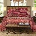 4/6/9 штук  Королевский размер  роскошный комплект постельного белья  пряжа  домашняя декоративная кровать  пододеяльник  набор с кисточками  ...