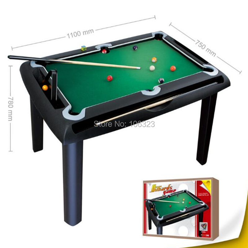 Children Billiard Game Set with Table Cue Ball, Kid Indoor Sport Entertainment Toys, Primary School Physical Education Equipment