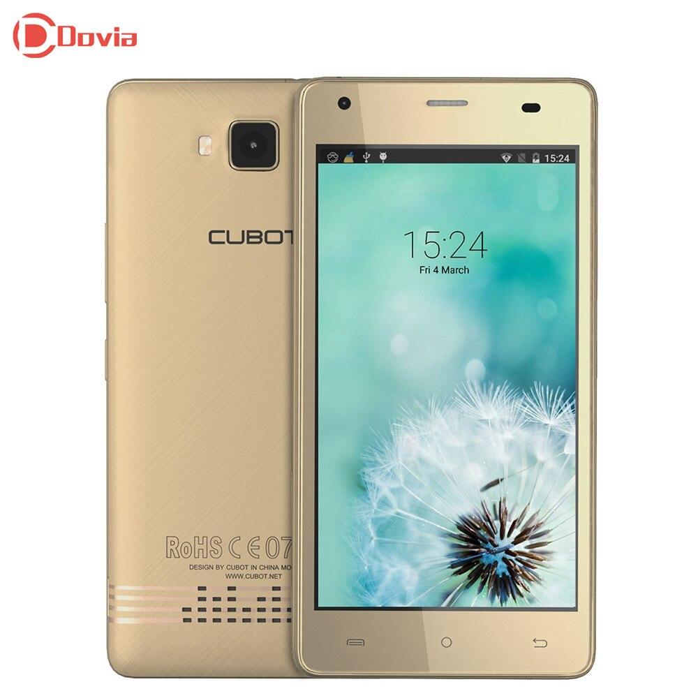 Echo 5.0 pulgadas 3g smartphone cubot mtk6580 quad core 2 gb ram 16 gb rom 13.0m