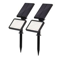 Hi Lumix IP44 Waterproof 48 LED New Arrival Led Solar Lawn Light 5 Mode outdoor Swimming pool garden Yard Landscape Decoration