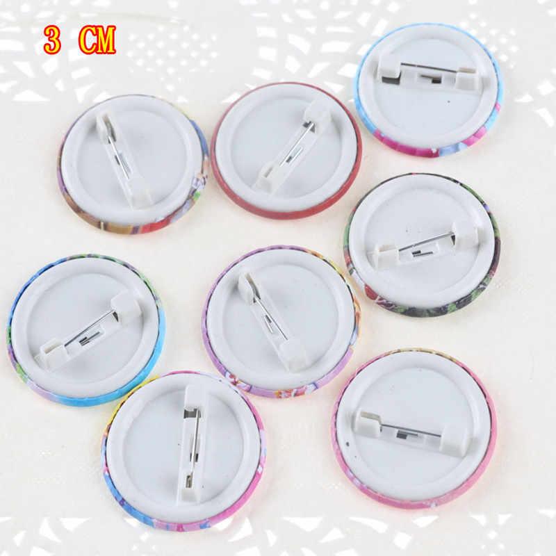 10PCS Snow White Princess Emoji Smile Little Horse Spiderman Star Badges  Cartoon Brooch Button Badge Pins,Kids Party Gift