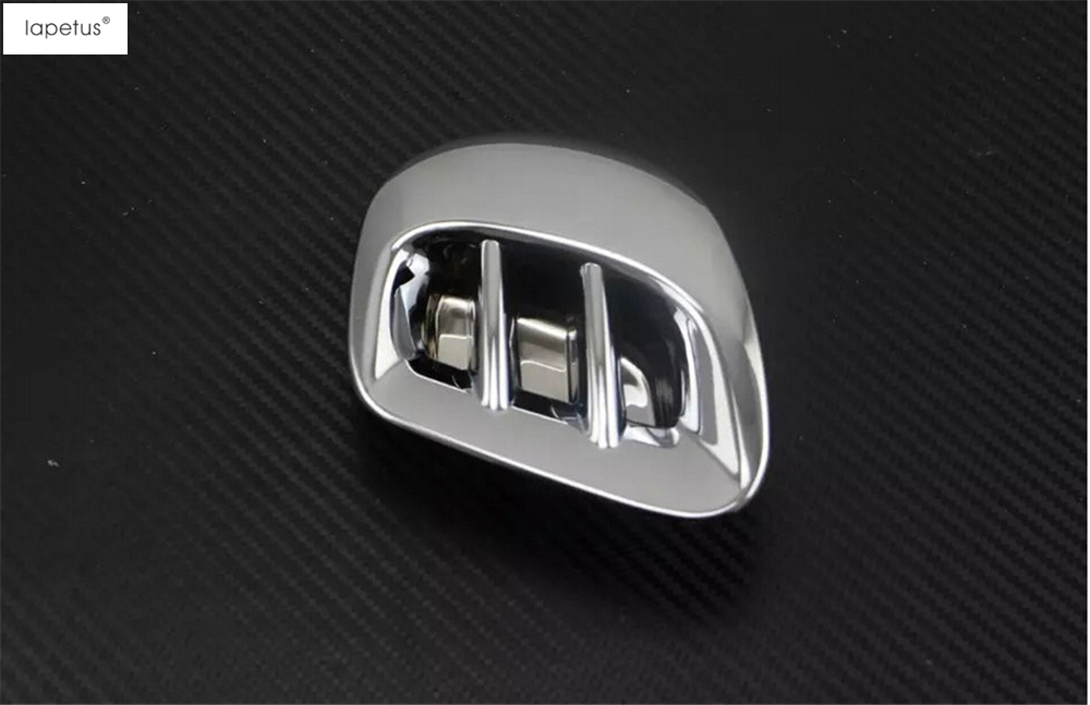 ABS ! Accessories For Mercedes-Benz Smart Fortwo / Forfour 2015 2016 2017 Rear Air Condition AC Outlet Vent Cover Kit Trim 1 Pcs