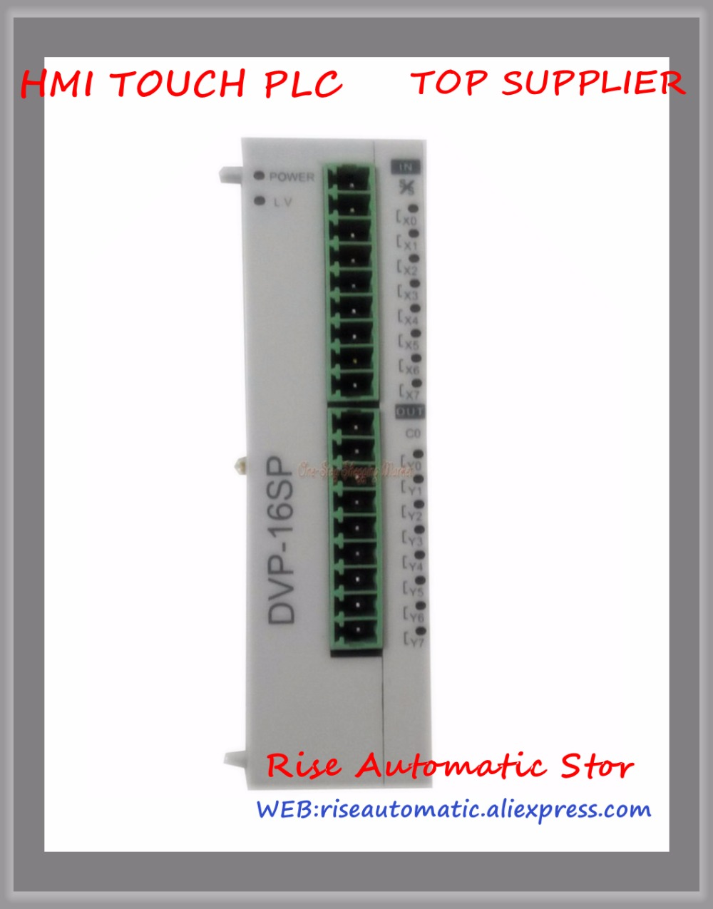 DVP16SP11T New Original Programmable Controller PLC SS series Digital Extension Module 8 point 8DI 8DO NPN