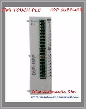 DVP16SP11T Mới Ban Đầu Lập Trình Điều Khiển PLC SS loạt Kỹ Thuật Số Module Mở Rộng 8-điểm 8DI 8DO NPN transistor