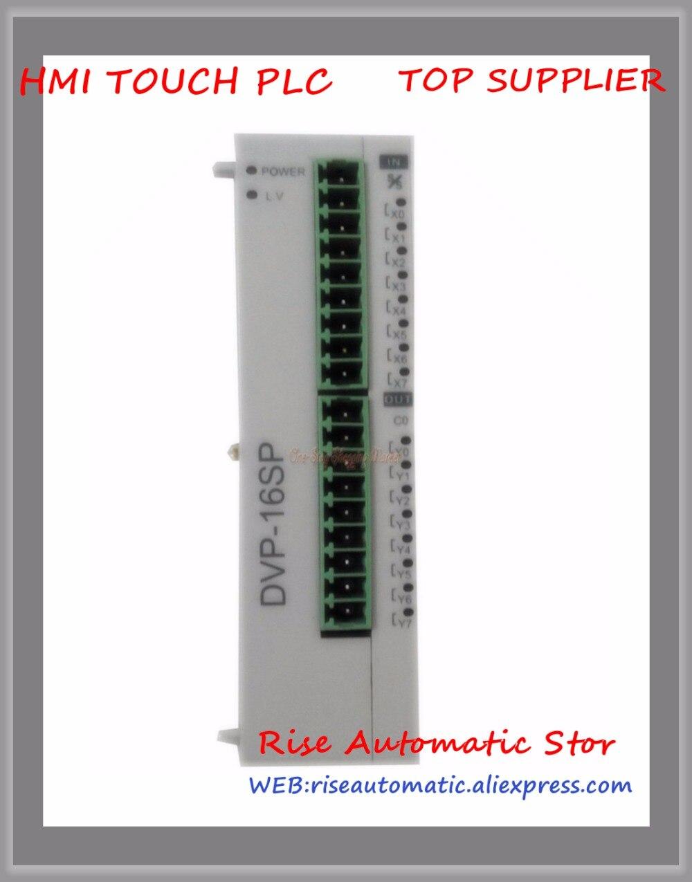 DVP16SP11T Original Novo Controlador Programável PLC SS série Digital Módulo de Extensão 8-ponto 8DI 8DO NPN transistor