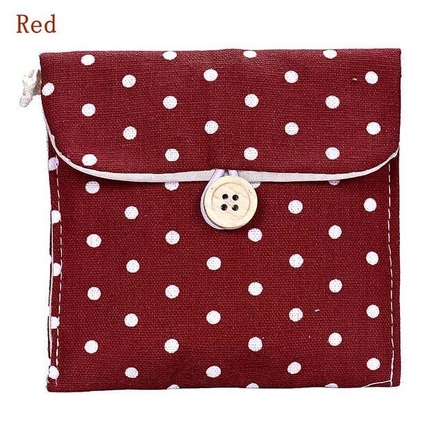 1/2 unids A19 lunares portátil transferencia mejor regalo chica algodón pañal bolsa embalaje viaje organizadores bolsa de la compra