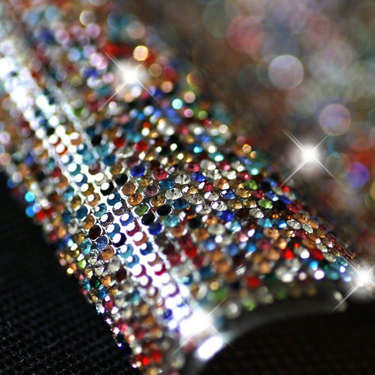 24 40cm Sheet Rhinestone Trim SS6 2mm Mix Color Crystal Mesh Wedding  Decoration Bling Banding Self Adhesive Or Iron On Clothing 4e45d1ae392d