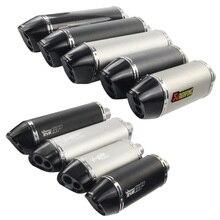 yoshimura 51mm de escape moto db killer 470mm 370mm CBR YZF YBR TTR IRBIS akrapovic muffler motorcycle exhaust pipe accessories