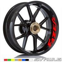 Estilo da motocicleta roda hub pneu reflexivo adesivo carro decorativo listra decalque para yamaha fz6 fazer fz6r fz8 fz1 fazer FZ-07