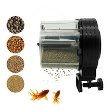 Mini Automatic Fish Feeder Aquarium Tank Timer Vacation Auto for Aquarium&Fish Vacation&Weekend Black