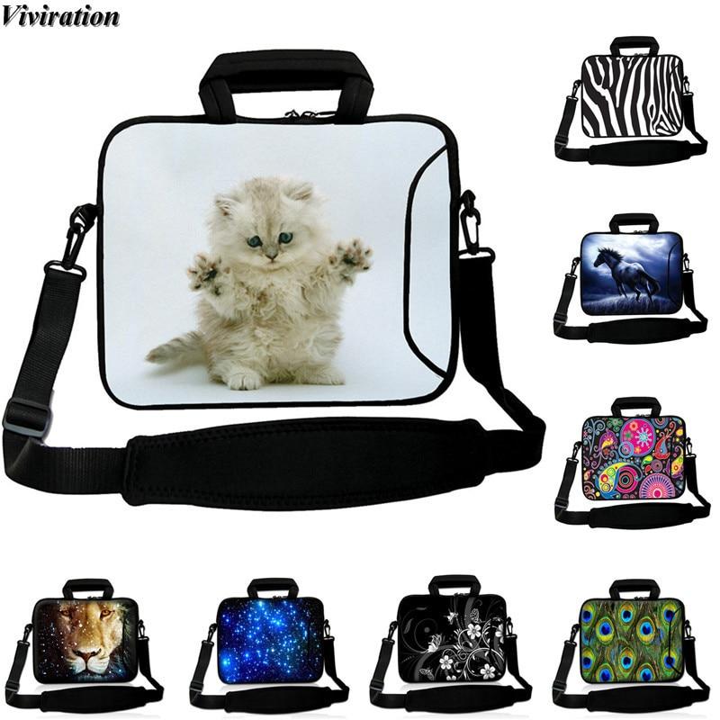 Neoprene Tablet Messenger Bag 10 Inch Universal Tablet Cover 10.1 10.2 10.5 9.7 9.6 Inch Laptop Case Viviration Women Girls Bag