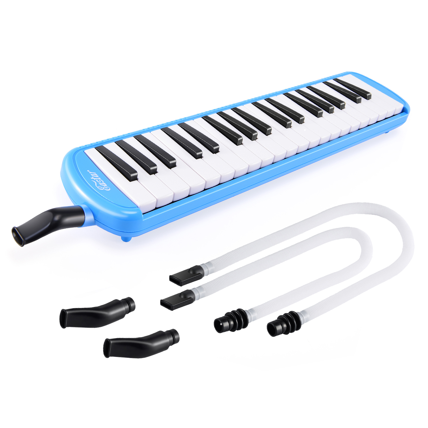 37 Keys Piano Melodica Keyboard Melodic Accordions Kit Music Instrument Melodion For Education Students Kids Beginners With Bag
