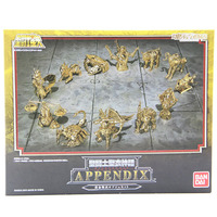 12pcs Set Anime Saint Seiya Action Figure Toys Golden Aries Taurus Gemini 1 9 Scale Painted