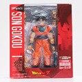 Dragon Ball Z Anime SHFiguarts Goku hijo figura de acción Goku PVC modelo muñecas juguetes cara cambiable grandes regalos 15 cm aprox al por menor