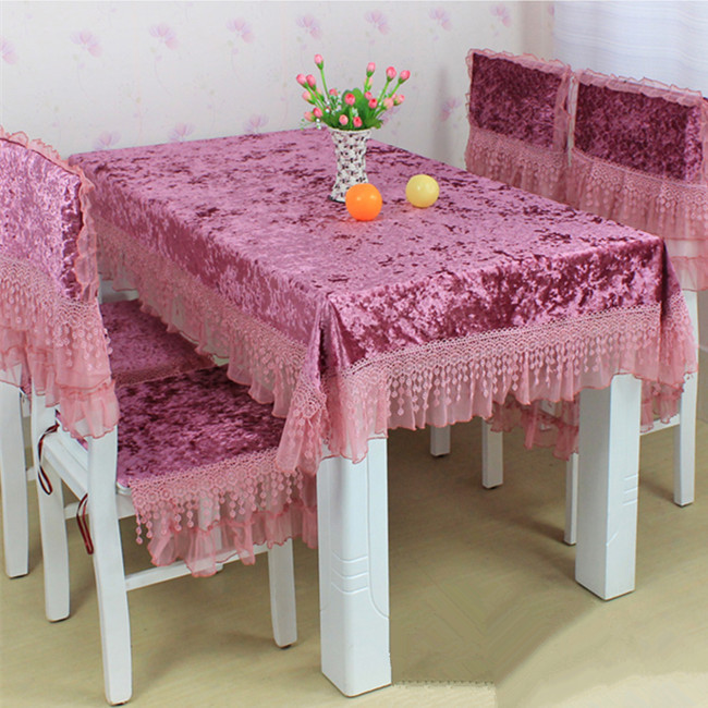 Dining Table Chair Covers Online Antique Wicker Back Chairs Cloth Sets Promotionshop For Promotional Tables