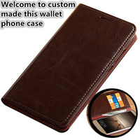 ZD15 Genuine leahther multifunctional phone bag for LG G6 Plus flip case for LG G6 phone case free shipping