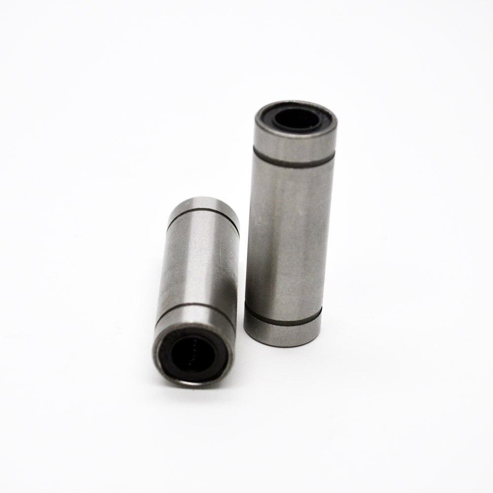 2pcs LM6LUU 6mm Long Linear Ball Bearing Bush Bushing 6x12x35mm 3D Printer