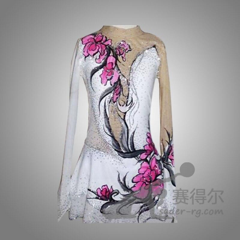 robes de patinage artistique pour les filles gracieux nouvelle marque personnalis ice robes de. Black Bedroom Furniture Sets. Home Design Ideas