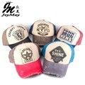 2015 primavera verão moda Snapbacks Denim Vintage Unisex Letras Bonés de Beisebol Chapéu de Sol boné de Pala Para Homens Mulheres B282-286