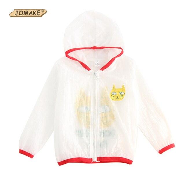 5dc272072 JOMAKE Kids Jacket Bobo Choses 2018 Summer Boys Coats Cartoon Cat ...