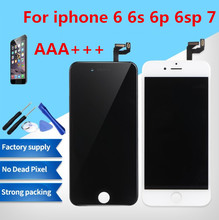 Grade AAA + + + Per il iphone 6 6 S Plus LCD Con 3D Forza di Touch Screen Digitizer Assembly Per il iphone 7 display No Dead Pixel