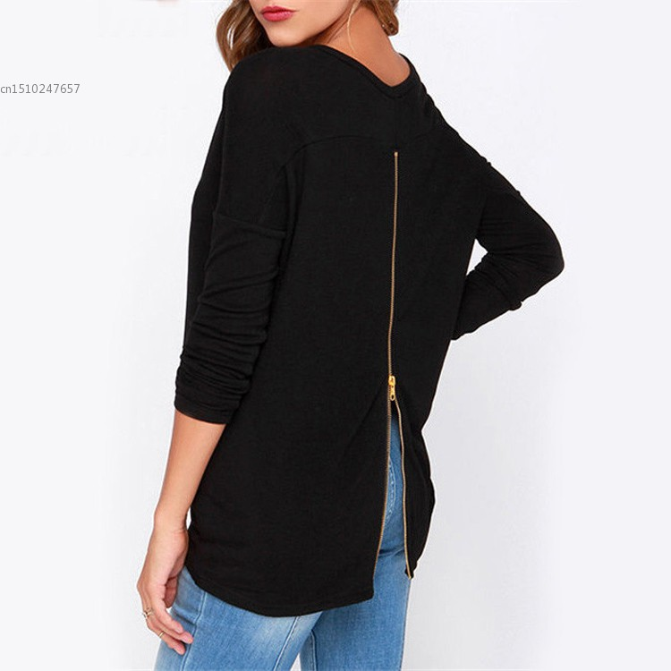 New fashion women summer style solid t shirt lady casual for New shirt style for girl