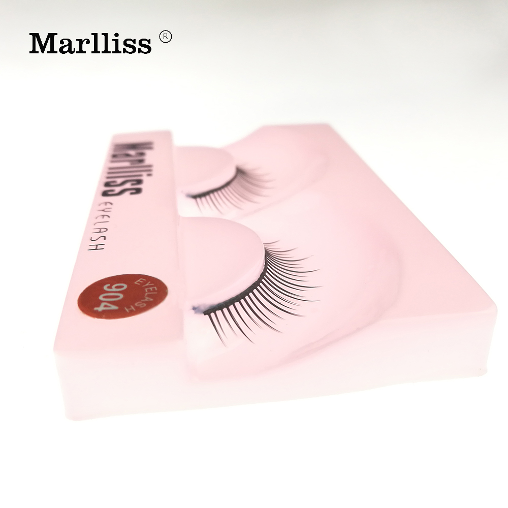 #904 1 Pairs 2017 New Style Reusable Up to 4 Weeks Feel Collection Premium Invisible False Eyelashes
