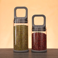 1 Stks Vacuüm Verzegelde Pot Glas Pull Kan Vacuüm Potten Deksel voor Potten Voedsel Glas Granen Container Opslag Bus Keuken Fles Tank