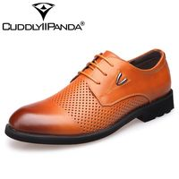 CUDDLYIIPANDA Genuine Leather Men S Casual Shoes Moccasins Lace Up Soft Bottom Comfortable Basic Flats Shoes