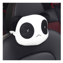Car Panda Headrest Cartoon Cute Neck Pillow
