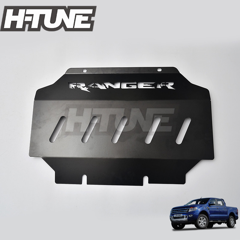 H-TUNE 4x4 Ranger T6 T7 Pickup 4mm Front Guard Engine Bash Plate Cover Skid Plate braun front plate fever electronic tube front preamplifier 6n8p gallbladder front plate 6sn7 front board