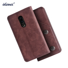 IDEWEI For Meizu 16 Case Cover Luxury Le