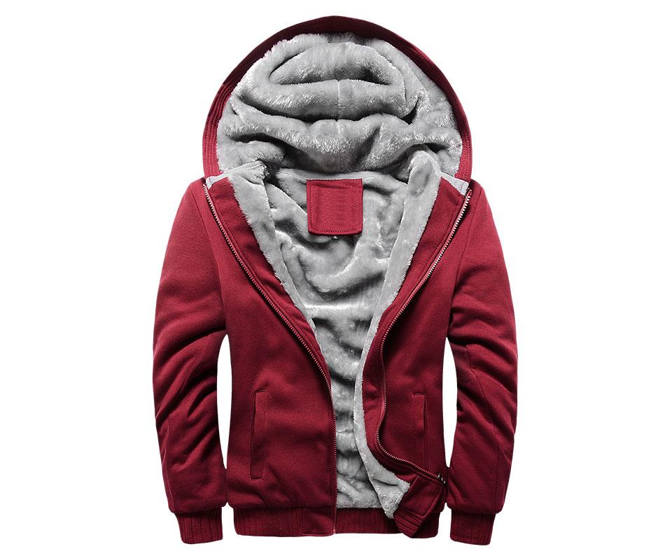 HTB1N9.UXBr0gK0jSZFnq6zRRXXa9 LBL Winter Mens Fleece Jacket Thick Solid Bomber Jackets Men Slim Fit Hooded Coat Man Autumn Warm Tracksuit New Men's Sportswear