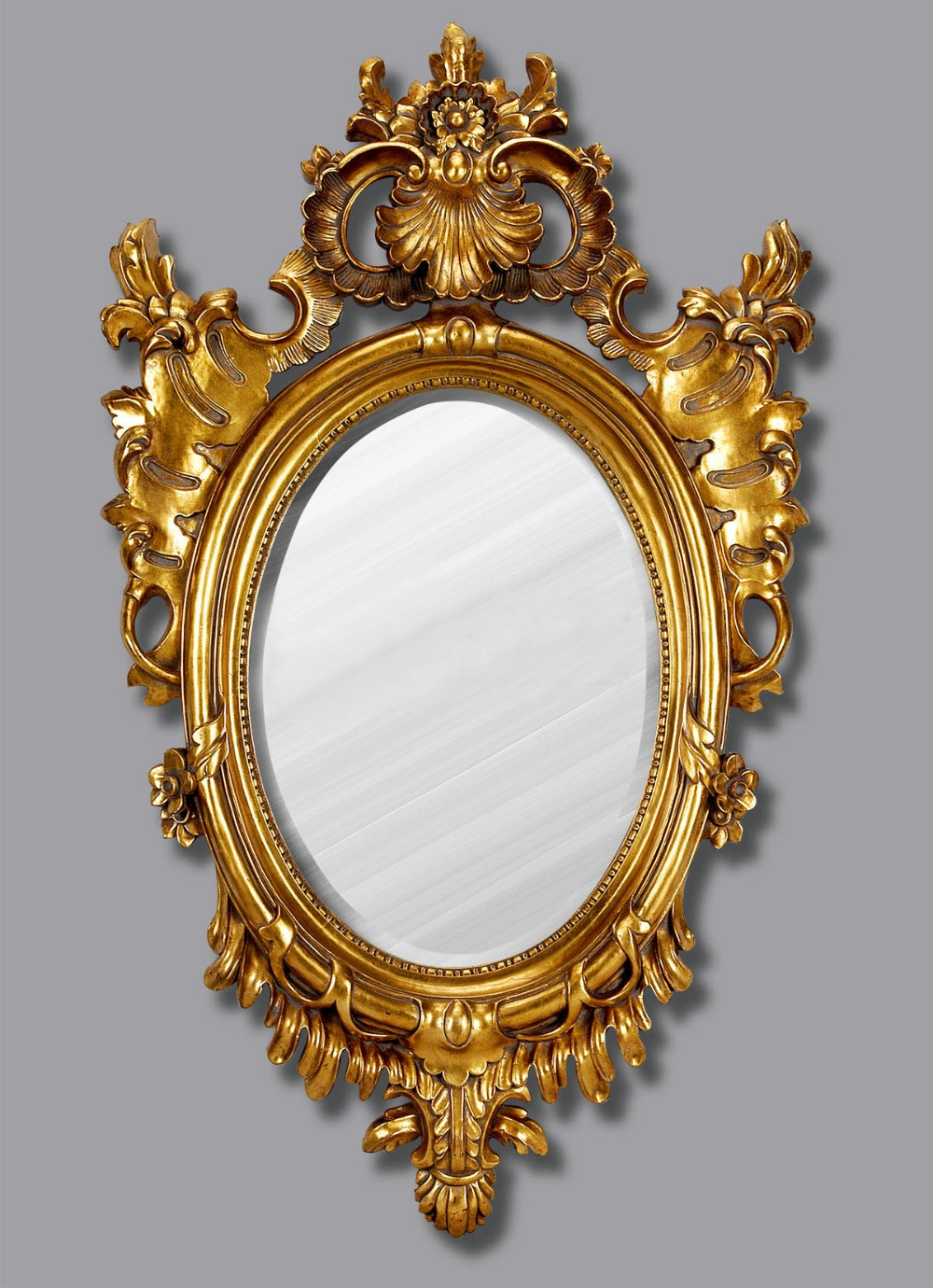 Antico Parete Bagno specchio D\'epoca Retro Resina Classico ...