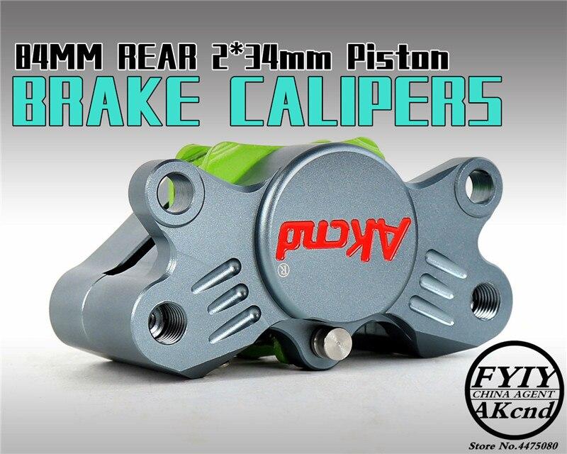 AKCND Motorcycle Rear CNC Brake Caloper brake Universal For Ducati Aprilia Suzuki Kawasaki YZF-R1 06-14 GSXR1000 07-14 ZX-10R