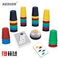 2-6 Jogadores Jogando Engraçado Copos de Rápida Velocidade de Cartão de Jogo Adequado Para A Família E Crianças Jogos de Tabuleiro Jogo Copos frete Grátis
