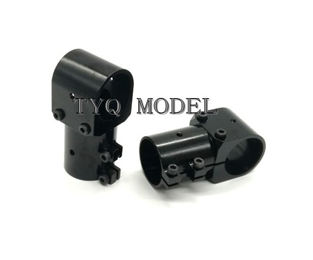 New Aluminum Alloy Three Way Connector 25 To 25 / 25 To 30 Plant Protection Machine Carbon Tube Connector Reinforcement Design