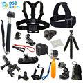 Gopro hero accesorios para gopro hero 5 sesiones/4/3 +/3/2/1 sj5000x sjcam sj4000 m20 cámara de acción xiaomi yi 4 k eken 06f