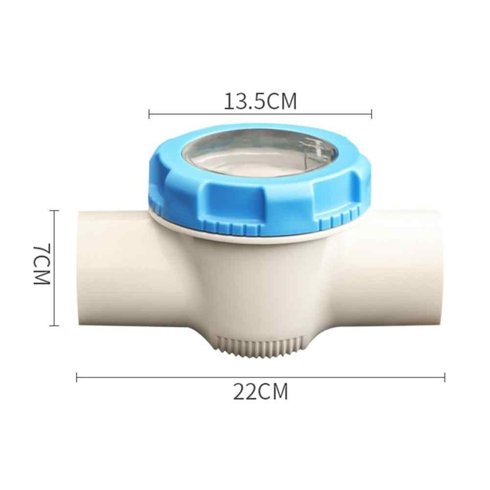 プラスチックチェックバルブ耐腐食性世論調査パイプチェックバルブため Fluoroscope 交換プール & スパ水泳プールアクセサリー
