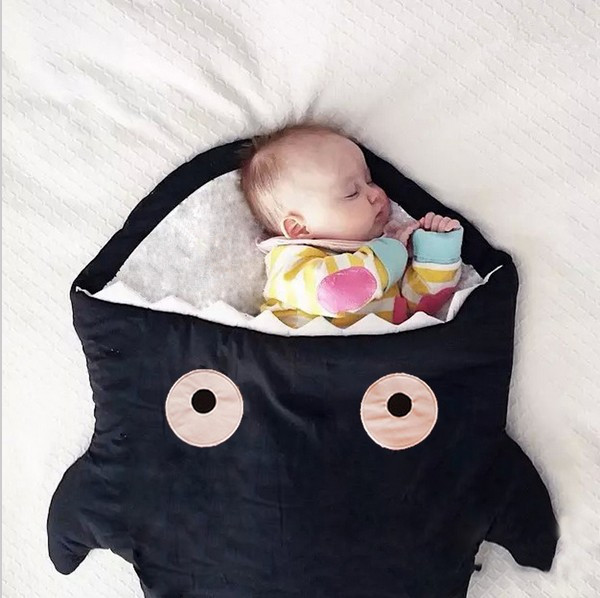Discount! Cartoon Shark Hot Selling Baby Stroller Sleeping Bags Baby Sleepsacks for Stroller