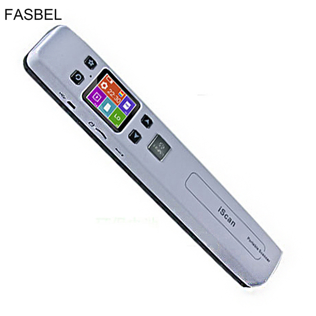 Wireless WIFI Portable Scanner A4 Size Support JGP/PDF High Speed Document Scanner 1050DPI Support TF Card to 32GB