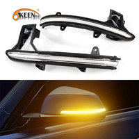 OKEEN For Mazda CX 5 CX5 KF 2017 2018 LED Dynamic Turn Signal Blinker Sequential Door Side Mirror Indicator Scroll Light 12V