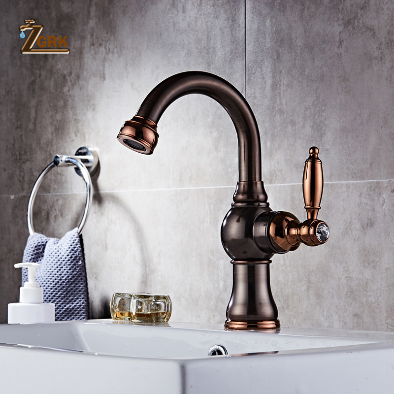 ZGRK Bathroom Faucet Waterfall Brass Crane Sink Faucets Hot and Cold Water Mixer Tap Contemporary Mixer Taps torneira gappo pull out kitchen faucets stainless steel faucet mixer water tap water sink taps crane bathroom torneira para cozinha