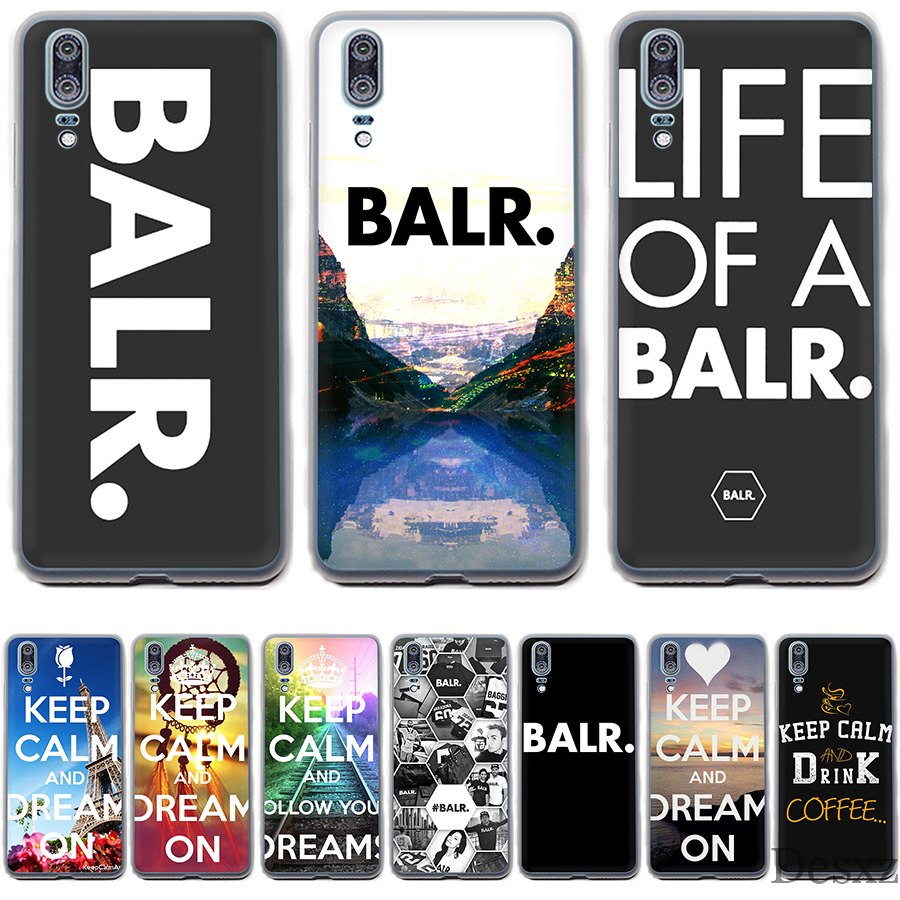 Phone Case Cover Life Of A Balr.Playmaker Keep Calm Cafe For Huawei Mate 10 20 Pro Lite Nova 3 3i Y6 Prime 2018
