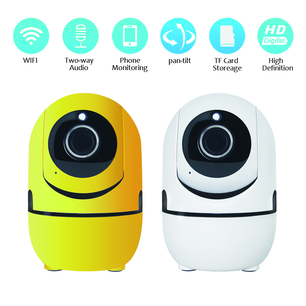 Yellow Minions IP Camera Wifi Wireless Mini HD 720P Security Camera Baby Monitor IR-CUT Surveillance Camera Motion Detection