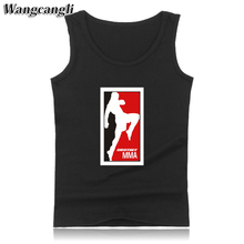 wangcangli MMA UFC masculino Men Fitness Tank Tops tank top mens Bodybuilding Shirt Clothes For Summer body engineers