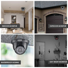 8CH Security Camera System 1080N Video DVR recorder 1TB HDD with 4x HD 1280TVL 720P Indoor Outdoor CCTV Cameras