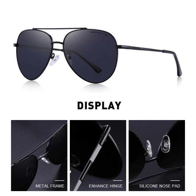 Men's Classic Aviation Sunglasses