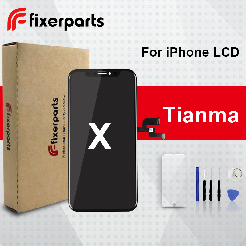 1pcs TM LCD For iphone X XS Display Touch Screen Digitizer Replacement Full Assembly for iPhone x lcd With Gift-in Mobile Phone LCD Screens from Cellphones & Telecommunications    1