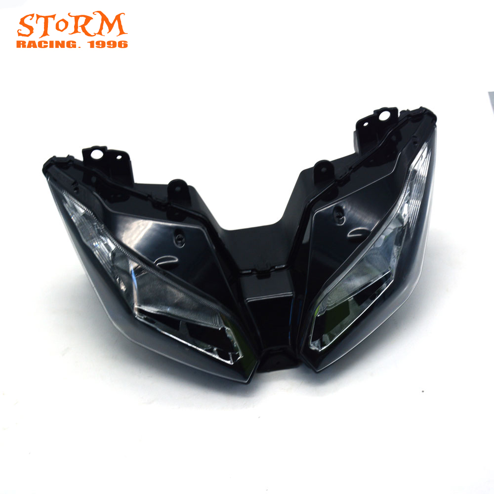 Motorcycle Head Light Headlamp For KAWASAKI NINJA300 NINJA 300 2013 2014 2015 Street Bike custom designed repsol fairings for kawasaki ninja300 2013 with free shipping